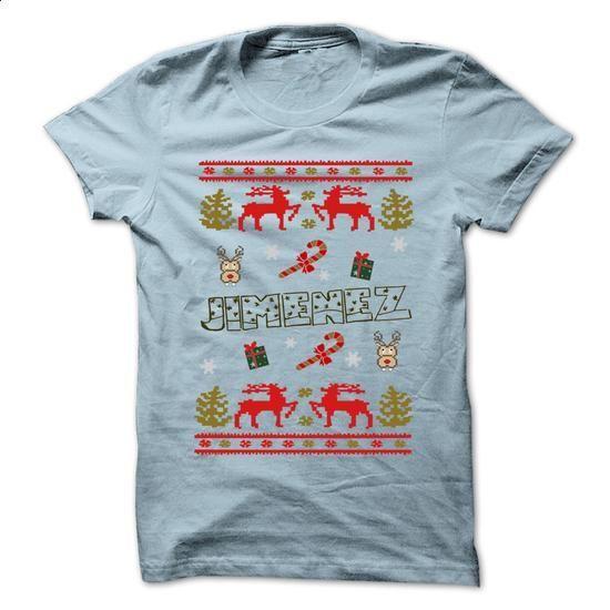 Christmas JIMENEZ ... 999 Cool Name Shirt ! - #tshirt display #sweatshirt quotes. MORE INFO => https://www.sunfrog.com/LifeStyle/Christmas-JIMENEZ-999-Cool-Name-Shirt-.html?68278