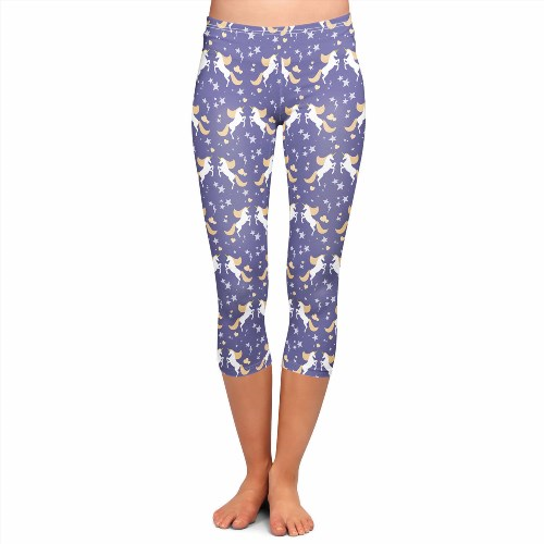 27.99$  Watch now - http://viwyz.justgood.pw/vig/item.php?t=8kxshm15837 - Golden Unicorns Capri Leggings 27.99$