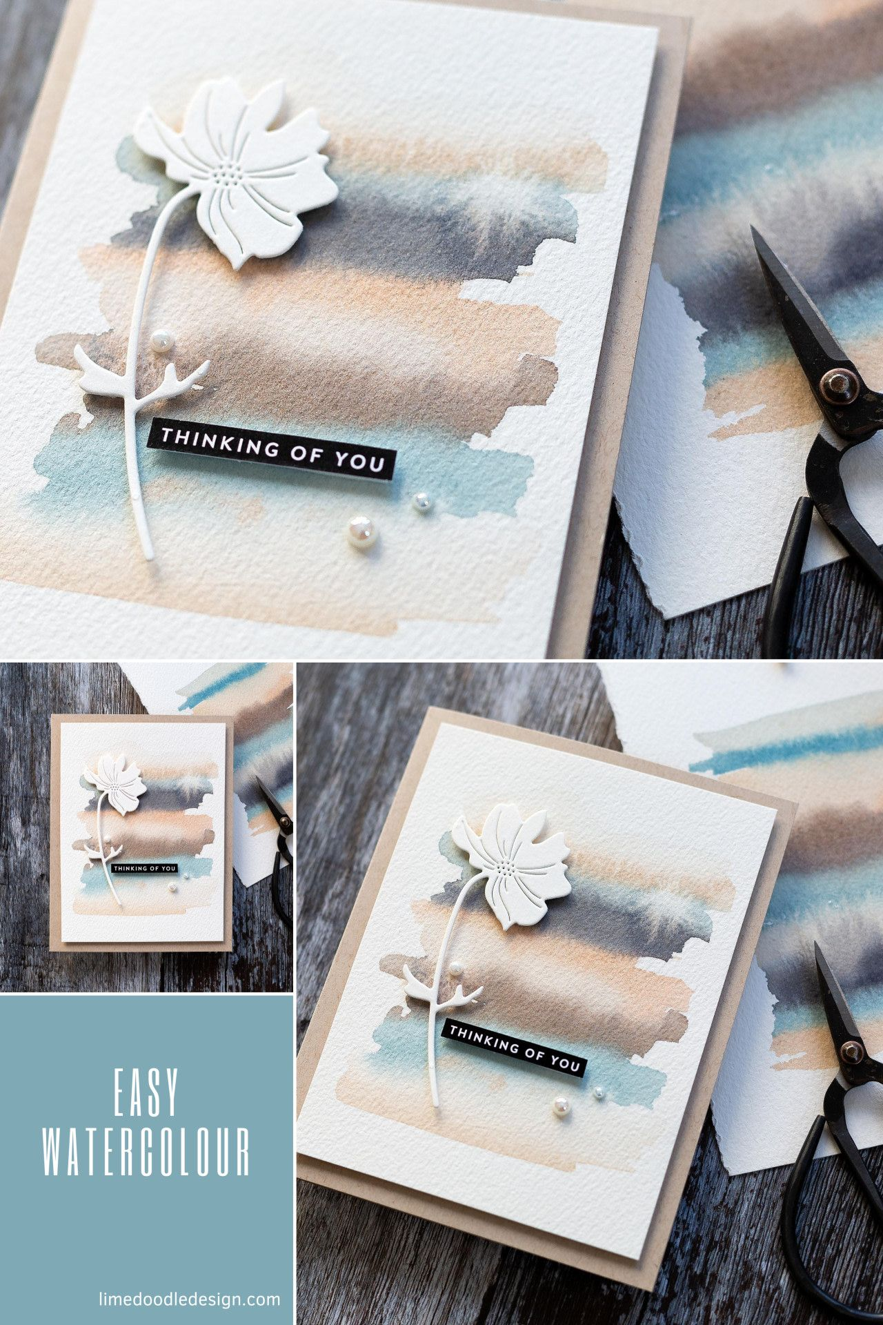 Easy Soothing Watercolour Background