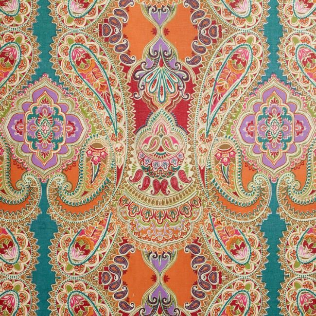 Color Palette Idea From A Shower Curtain Paisley Venice World