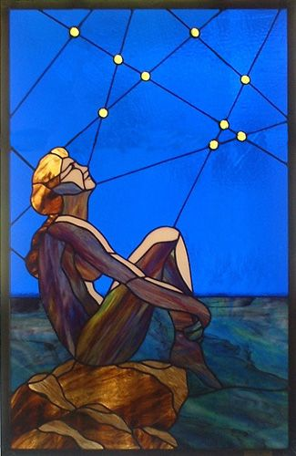 Margie Cohen Stained Glass Artist: Stargazer