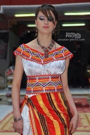 Coiffure spéciale mariée Robe kabyle moderne, Robe et