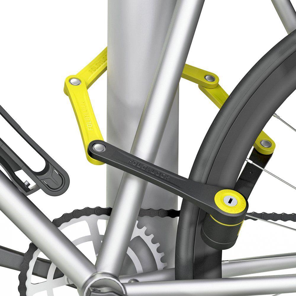 Foldylock Compact Bike Lock Heavy Duty Bicycle Security Chain Lock