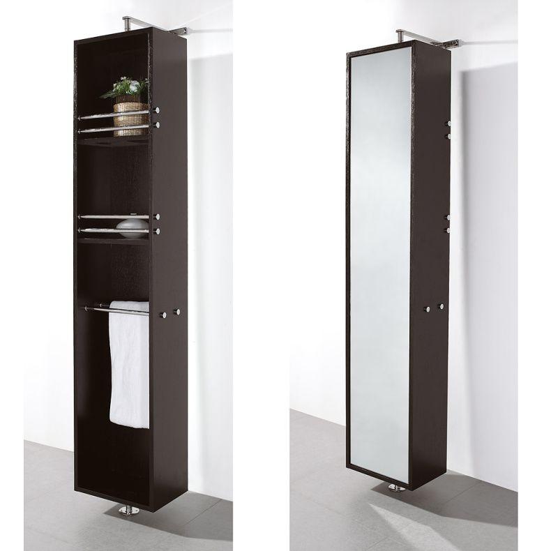 Dark Wood Bathroom Wall Cabinet Google Search