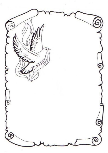 caratulas para dibujar pergaminos