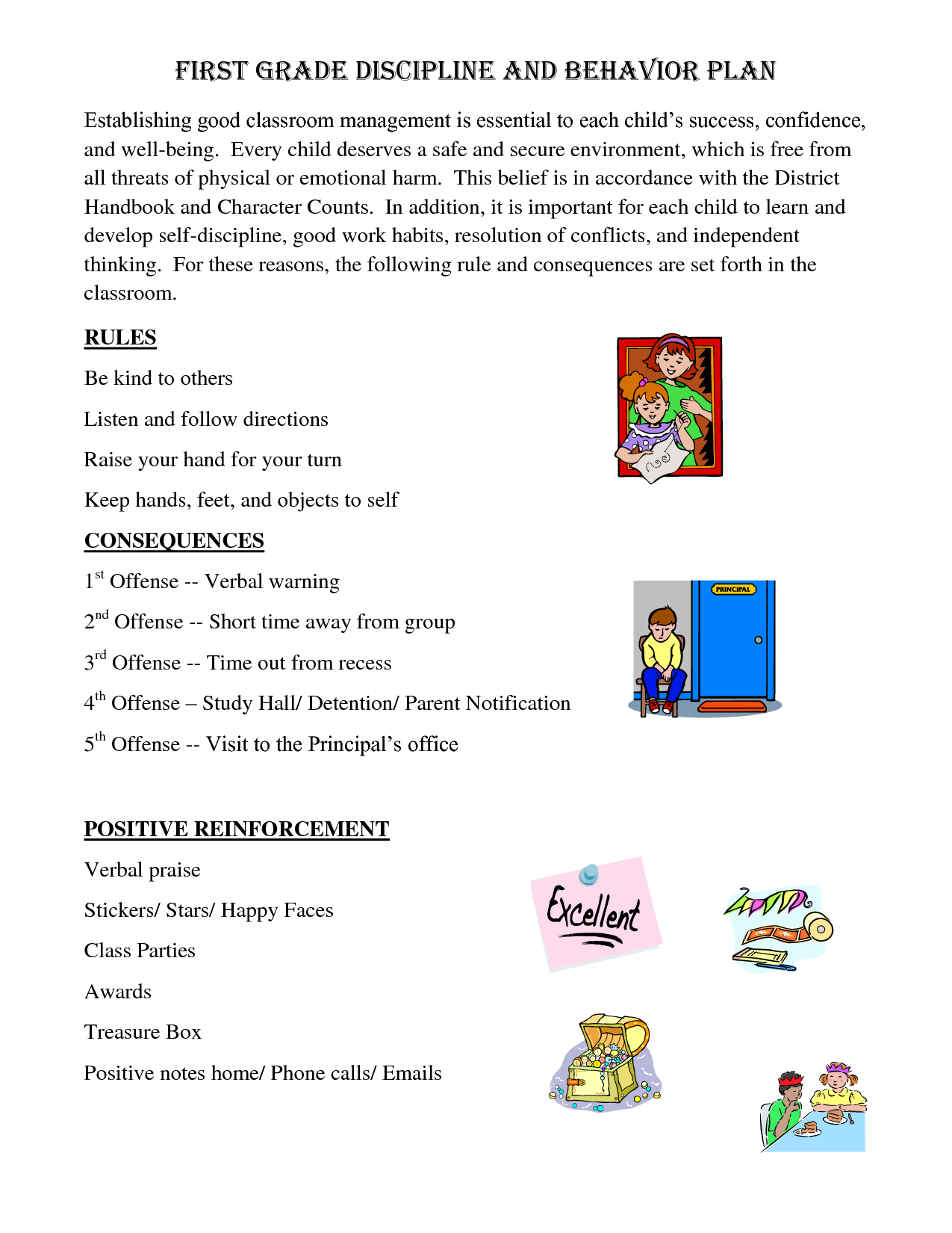 Action Behavior Consequence Worksheet