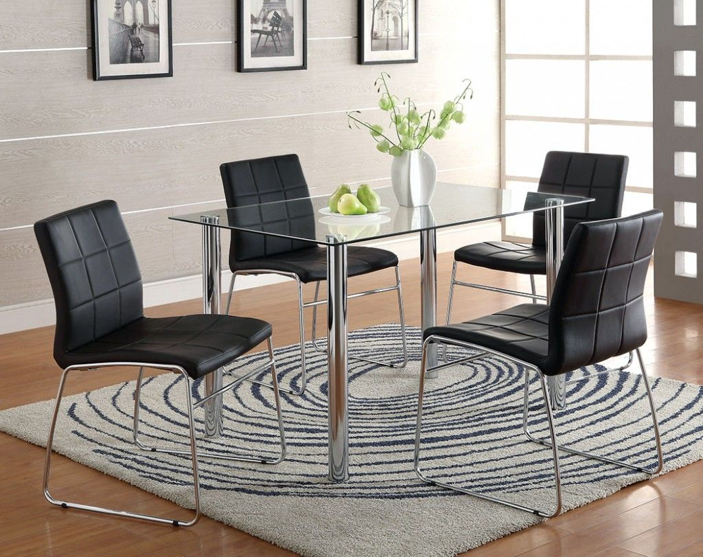 modern dinette dinette furniture set dinette sets contemporary  - unscramble the name of this modern dinette set in this week's