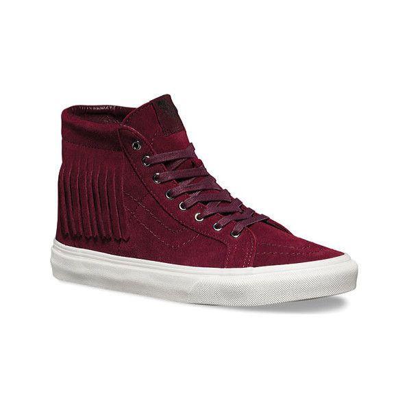 4b150420e18e Vans Sk8-Hi Moc ( 61) ❤ liked on Polyvore featuring shoes