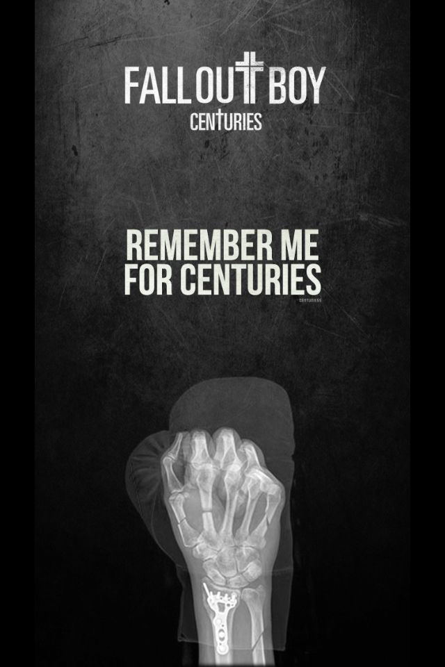 Fall Out Boy Centuries Iphone Background