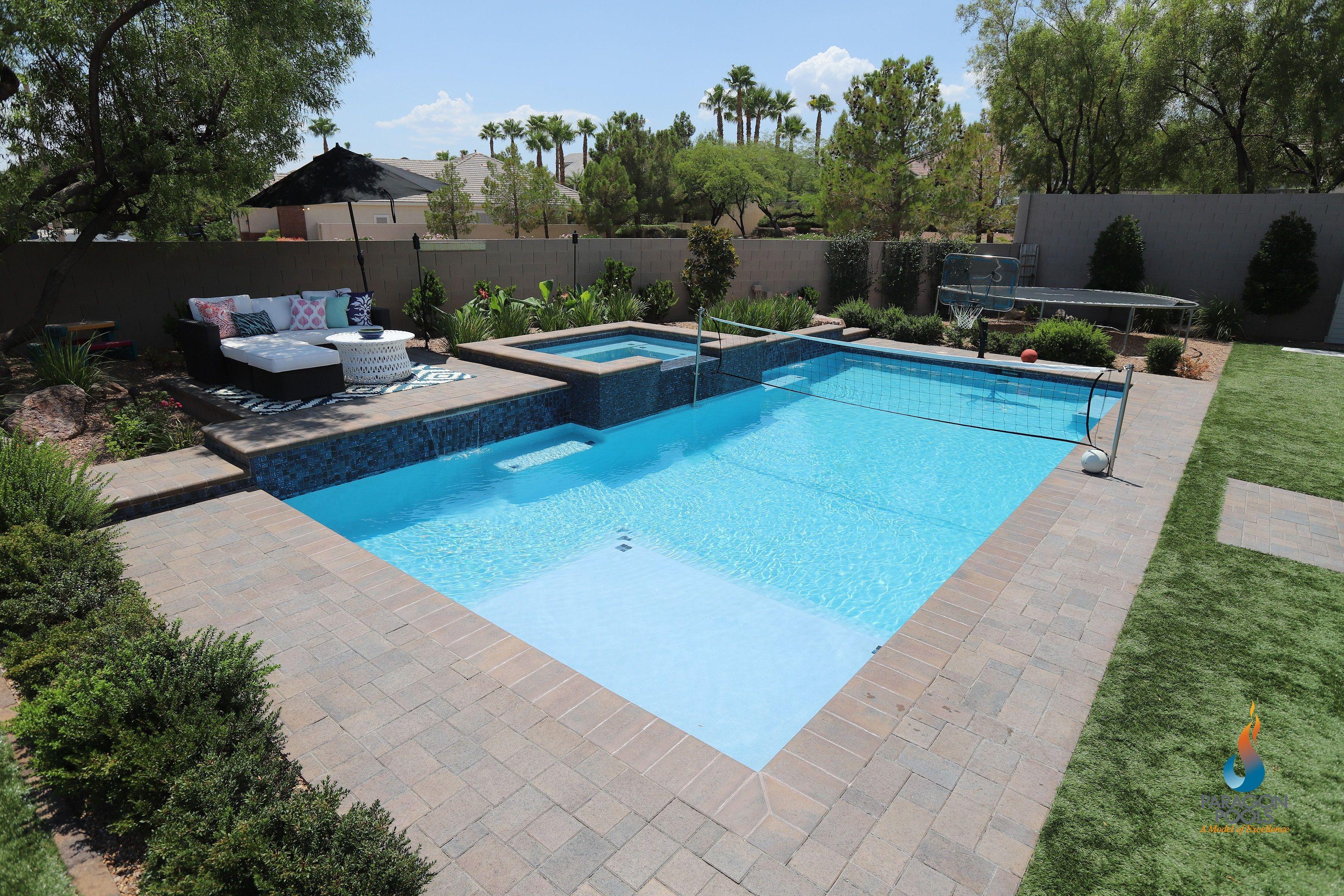 Sports Pool Backyard Pool Landscaping Swimming Pool House Rectangle Pool