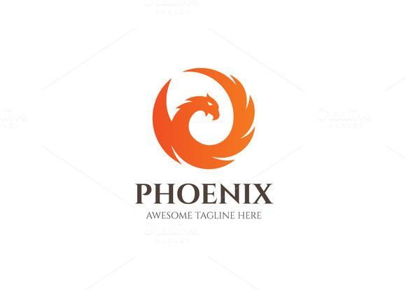 Phoenix Logo by XpertgraphicD on @creativemarket | Nature ...