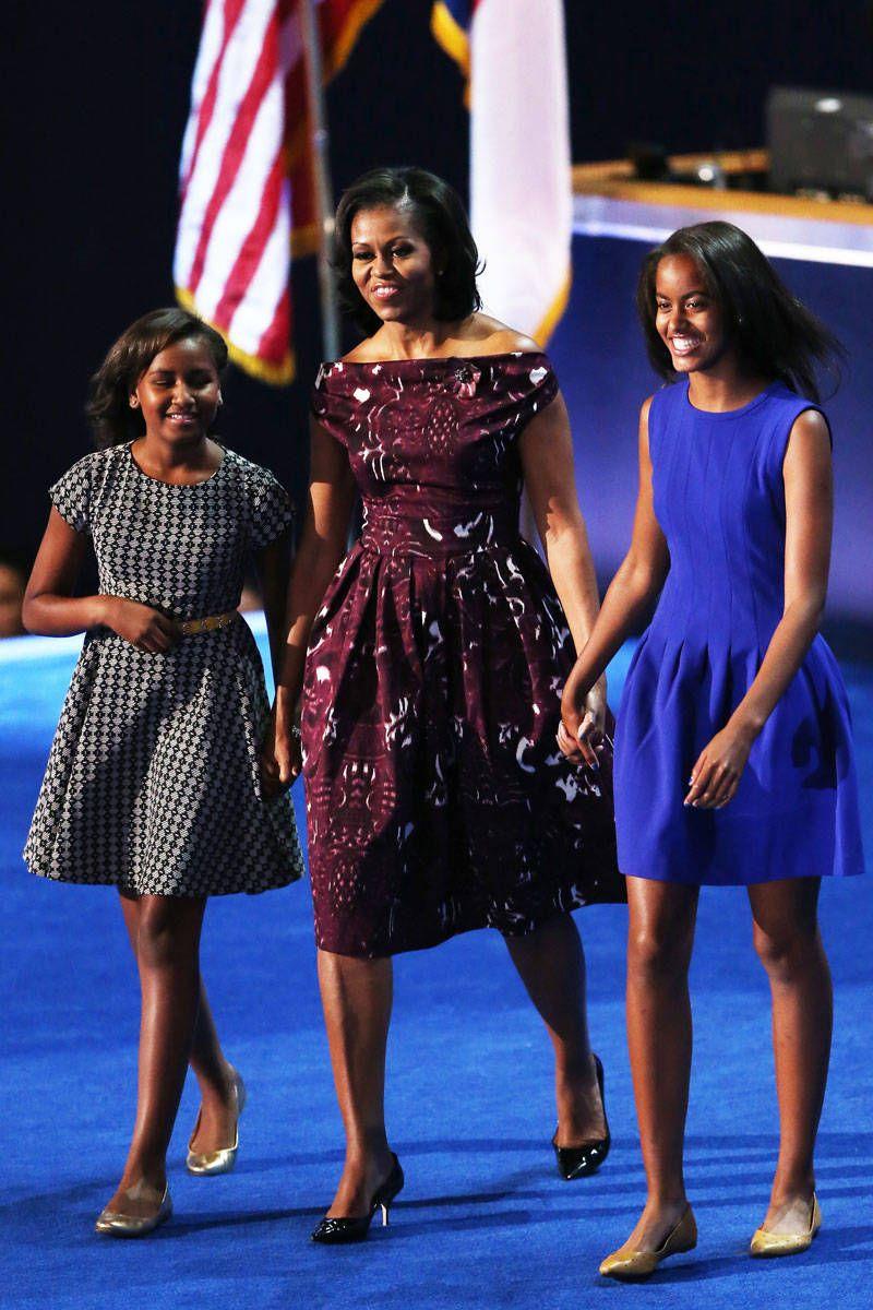 best looks obama malia obama national convention and