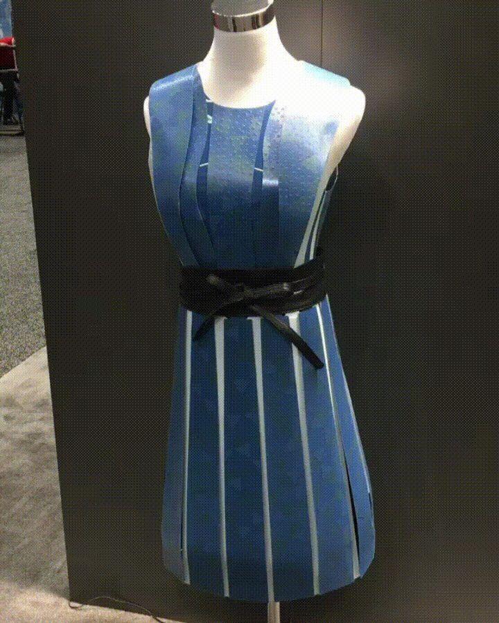 Eink dress e ink display dresses unique dresses