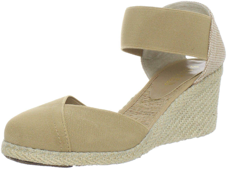 298fe48f2cd Lauren Ralph Lauren Women s Charla Wedge Sandal   Don t get left behind