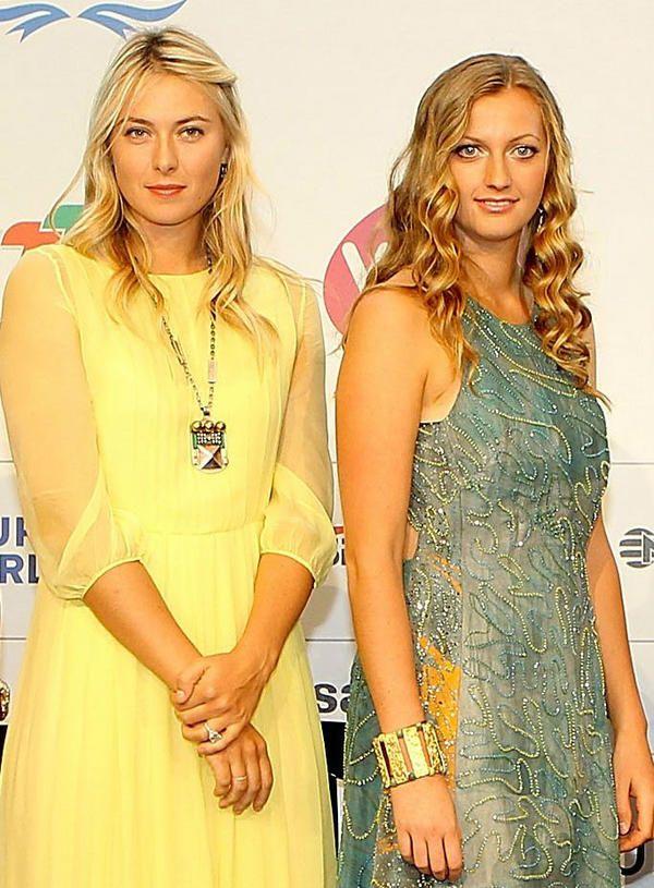 aa87f4cd0ac6 Maria Sharapova and Petra Kvitova