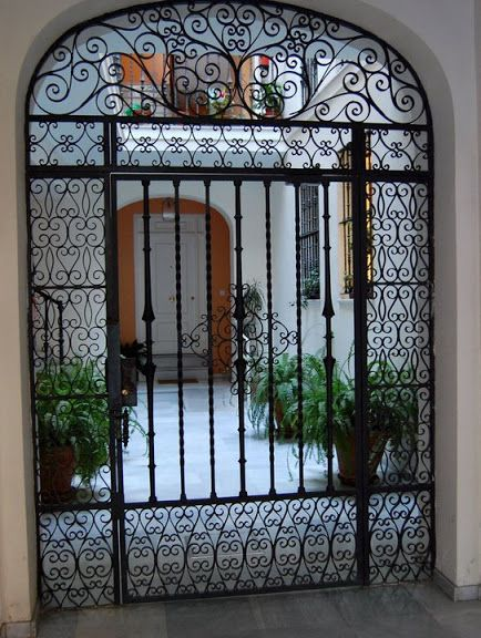 Patio De Sevilla Wrought Iron Iron Doors Wrought Iron