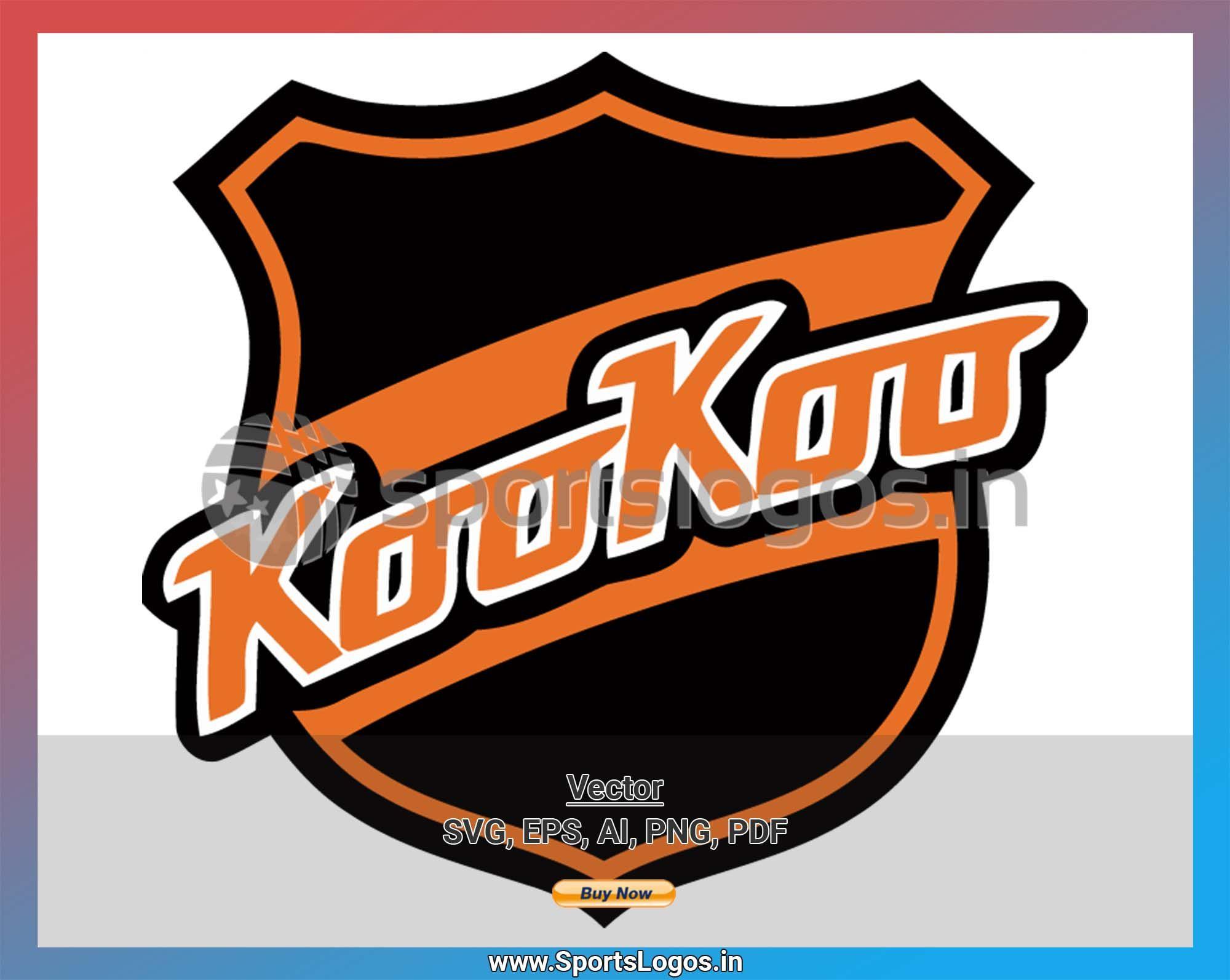 KooKoo 2015, Liiga, Hockey Sports Vector/SVG/Cricut Logo