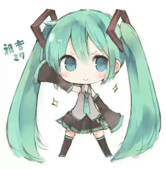 Miku chibi vocaloid hatsune miku vocaloid anime - Cute anime miku ...