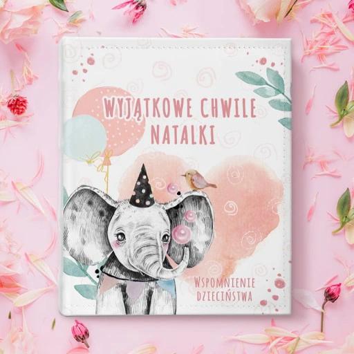 Album Na Zdjecia Prezent Roczek Dzieciece Urodziny Book Cover Books
