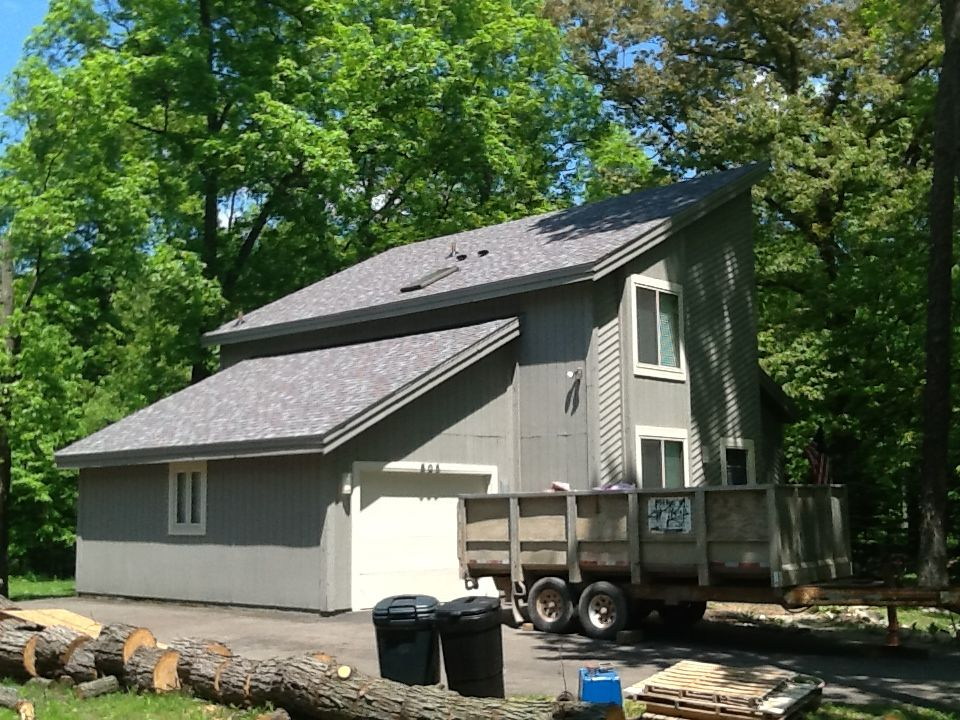 Best Just Installed Owens Corning Duration Colonial Slate With 640 x 480