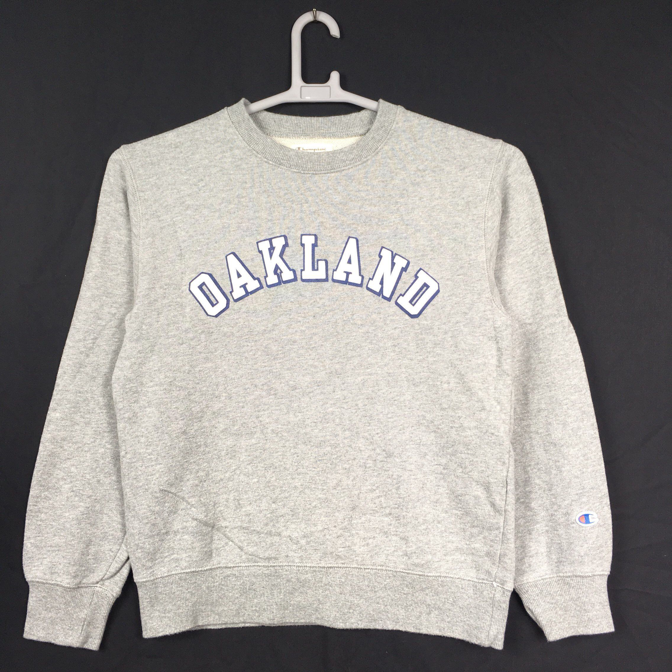 Excited To Share This Item From My Etsy Shop 90s Champion Oakland Sweatshirt M Size For Sell Sweatshirts Graphic Sweatshirt Shopping [ 2272 x 2272 Pixel ]