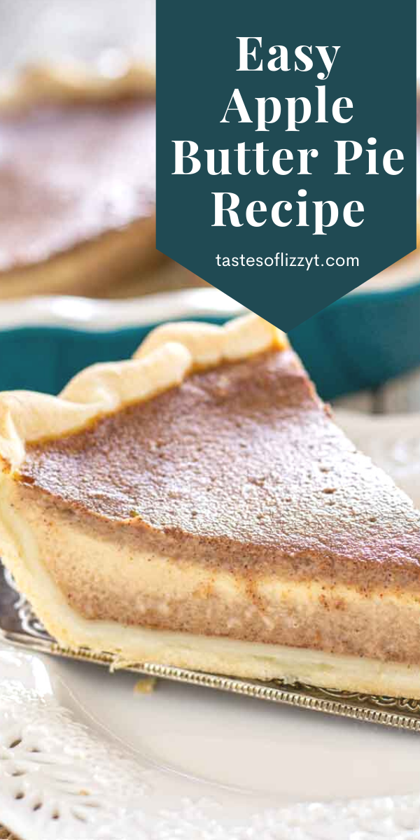 Easy Apple Butter Pie Recipe In 2020 Apple Recipes Best Apple Recipes Homemade Pie Recipes