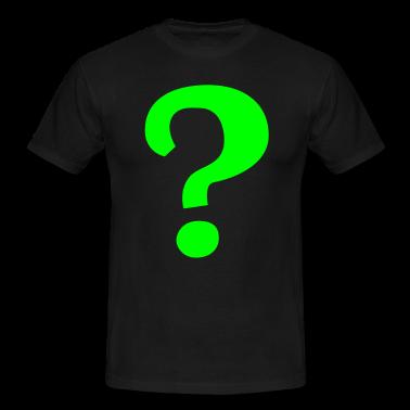 The Riddler Question Mark T Shirt Spreadshirt Id 9133987 Riddler Riddler Costume Question Mark Symbol