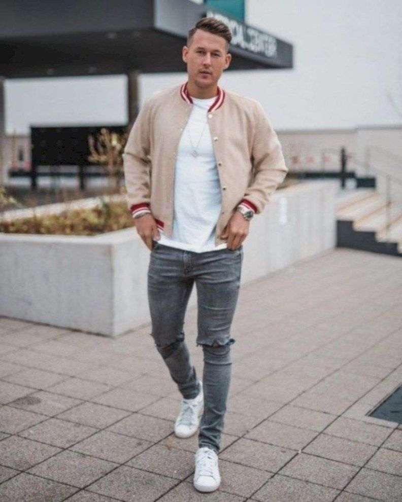 ecf6e87e28ff 32 Trendy Men Spring Outfit with Casual Style | Street Style | Mens ...