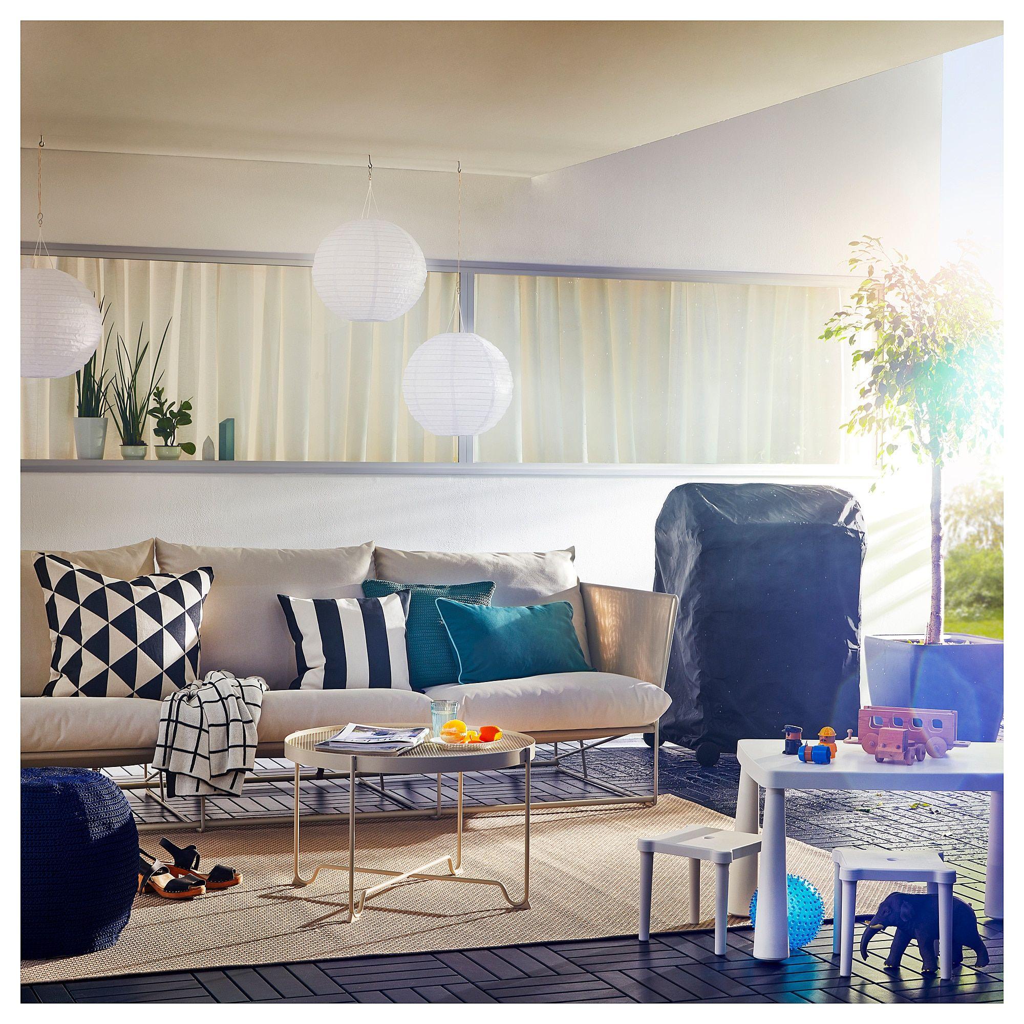 Havsten Sofa In Outdoor Beige 102 3 8x37x35 3 8 260x94x90 Cm