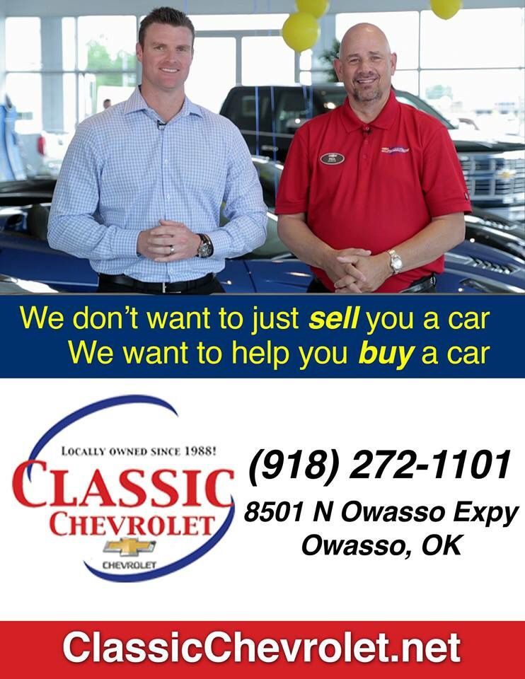 #UnionFB Sponsor   Classic Chevrolet Owasso. Thank You For Your Continued  Support! #