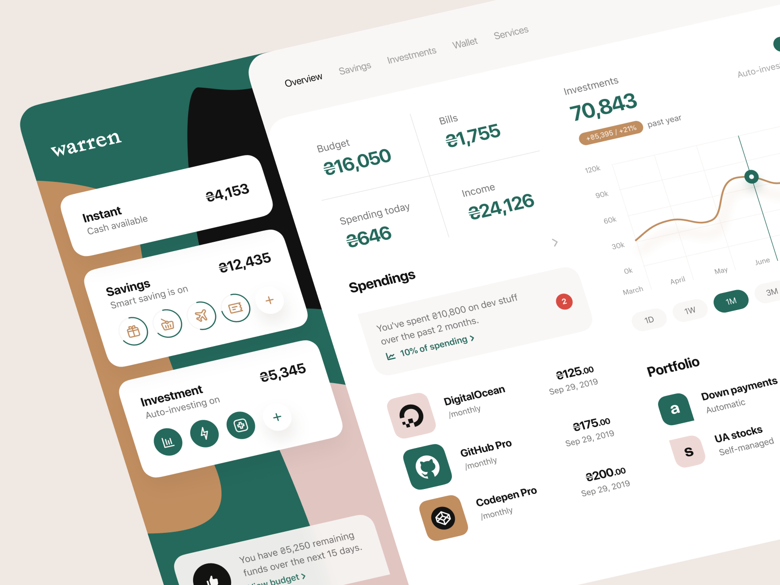 Hey Guys Warren Is Now Virtually Available As A Web Based Application Thoughts Want To Know More About Heart Case Study Design Dribbble In A Heartbeat