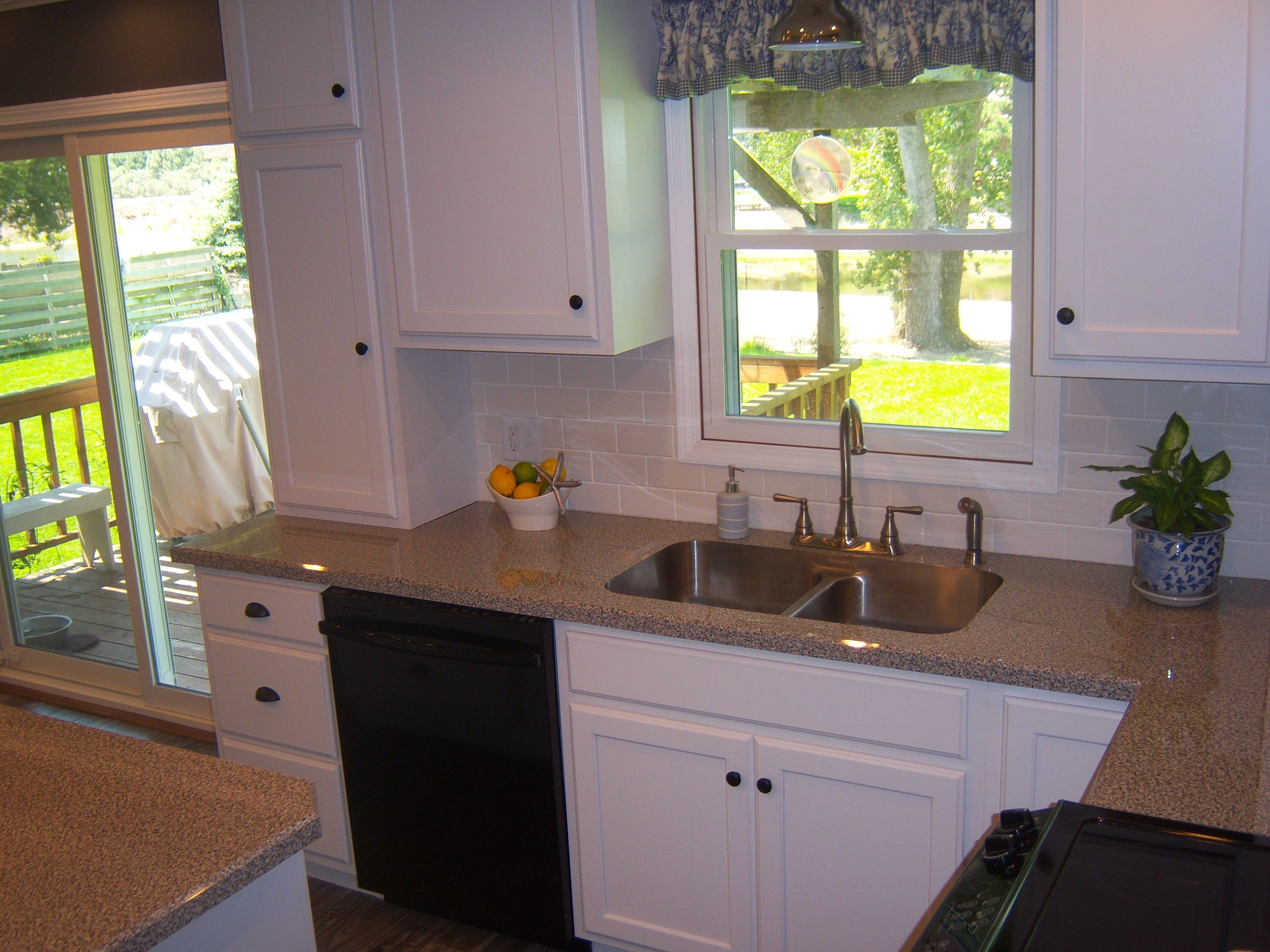 Karran Stainless Steel Undermount Sink In Wilsonart Laminate Countertop.