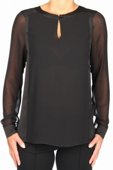 expresso zwarte blouse