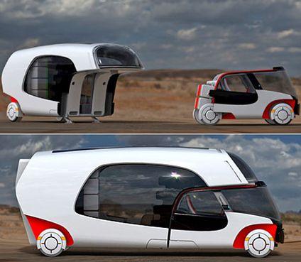moyens de transport du futur 4 camping car du futur blog technologie transports. Black Bedroom Furniture Sets. Home Design Ideas