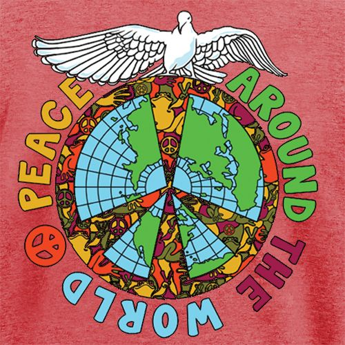 What Better Awareness To Build Up Than Peace Around The World Peace