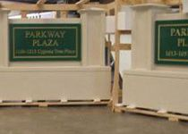Parkway Plaza Sign Monuments