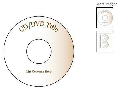 cd dvd label Create DVDs with pic and video Label templates