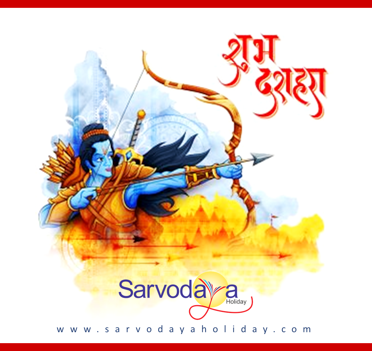Wish you all a very happy dusshera. ) Dussehra