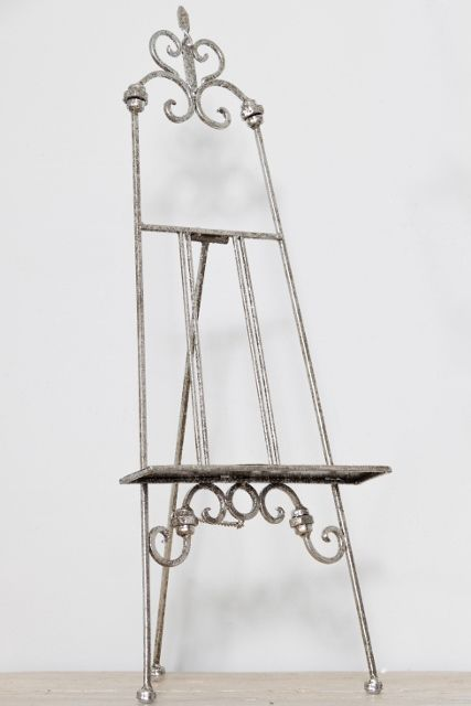 A Table Top Easel Perfect For Your Home This Small Antique Silver Easel Is  Decorative Stylish