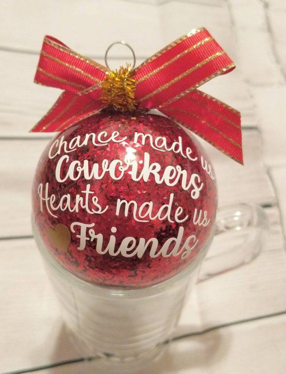 Coworkers gifts, Coworker Ornaments, Office Party Gifts ...