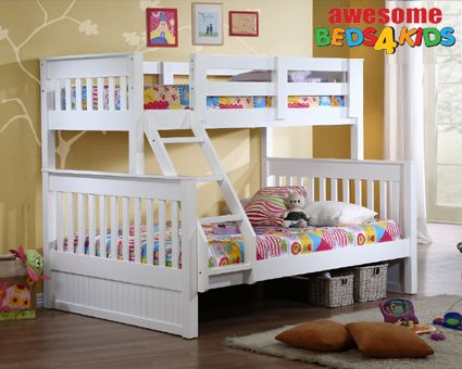 Best Bayswater Single Over Double Bunk Bed Premium Quality 400 x 300