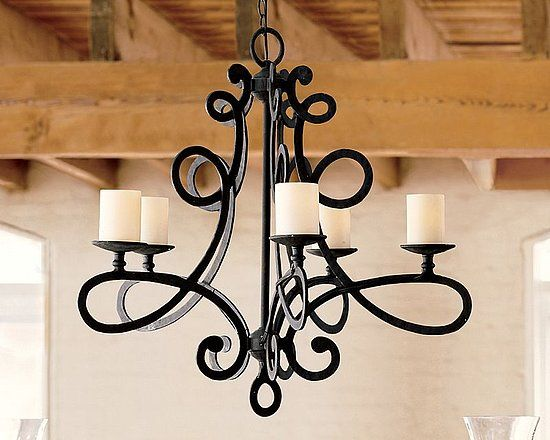 17 Best images about Light Fixtures – Rot Iron Chandeliers