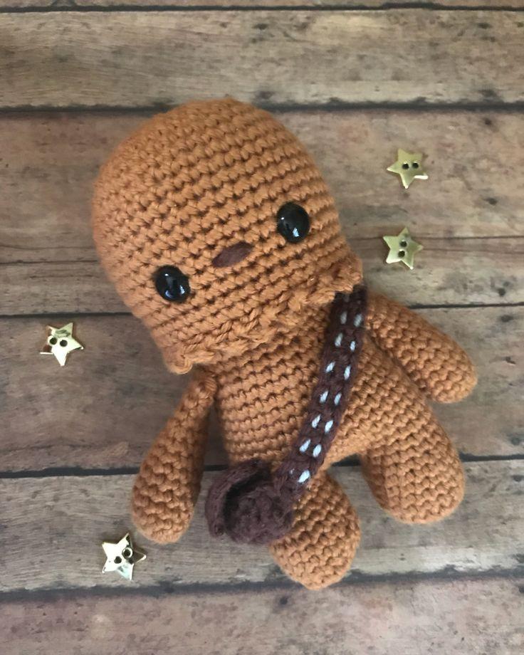 Chewbacca crochet - Star Wars stuffed animal - Chewy Amigurumi
