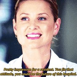 shes talking about my bae alex karev