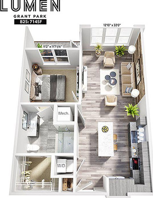 Lumen Grant Park Apartment Rentals Atlanta Ga Zillow Atlanta Apartments Apartment Apartments In Atlanta Ga