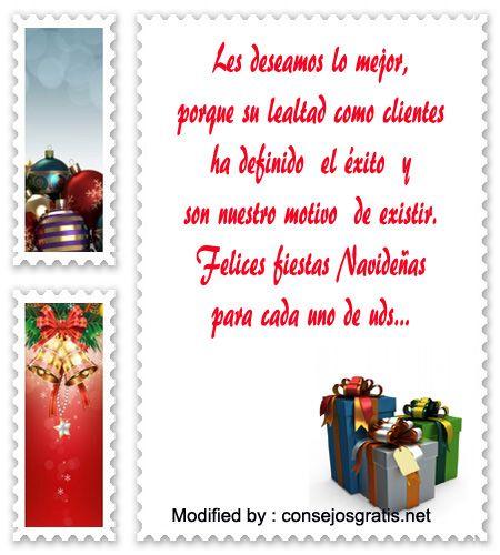 Buscar mensajes bonitos con im genes de fel z navidad - Mensajes navidenos para empresas ...