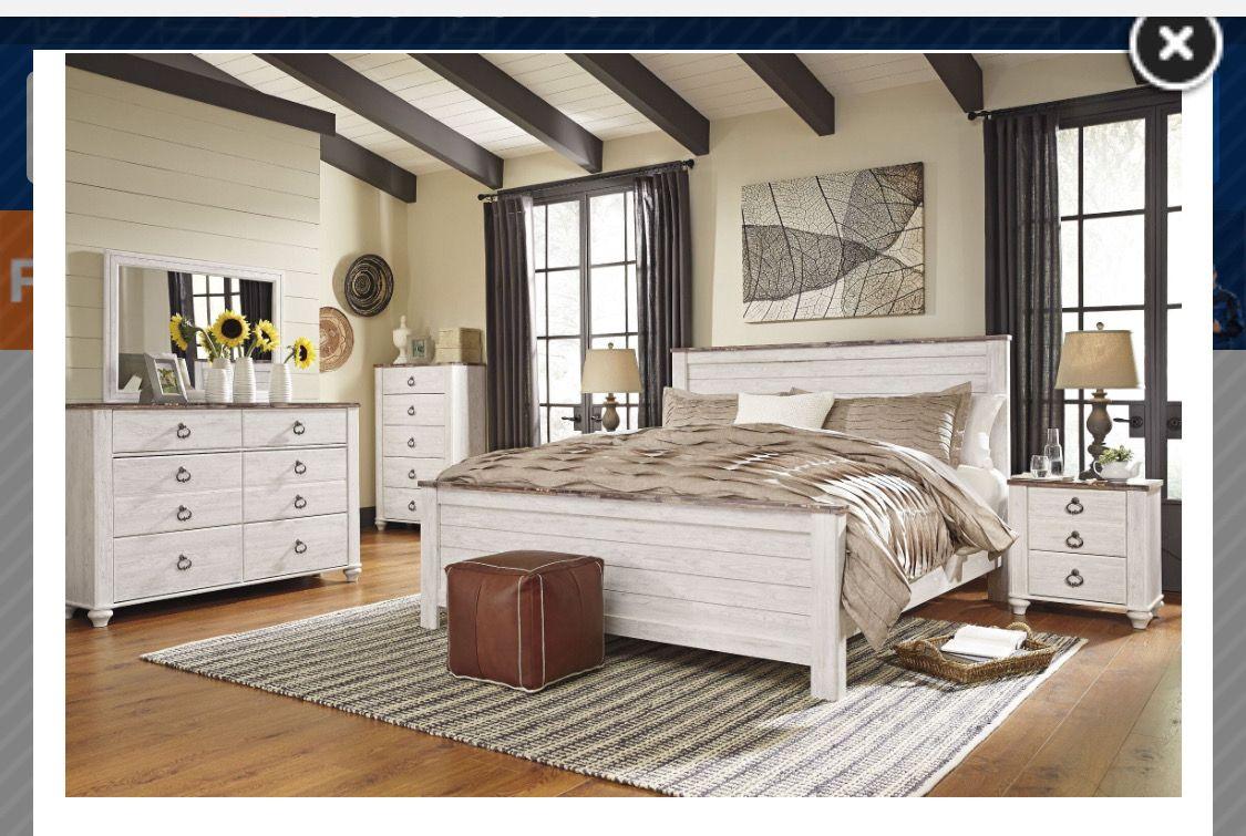 Ashley Willowton King Bedroom Set