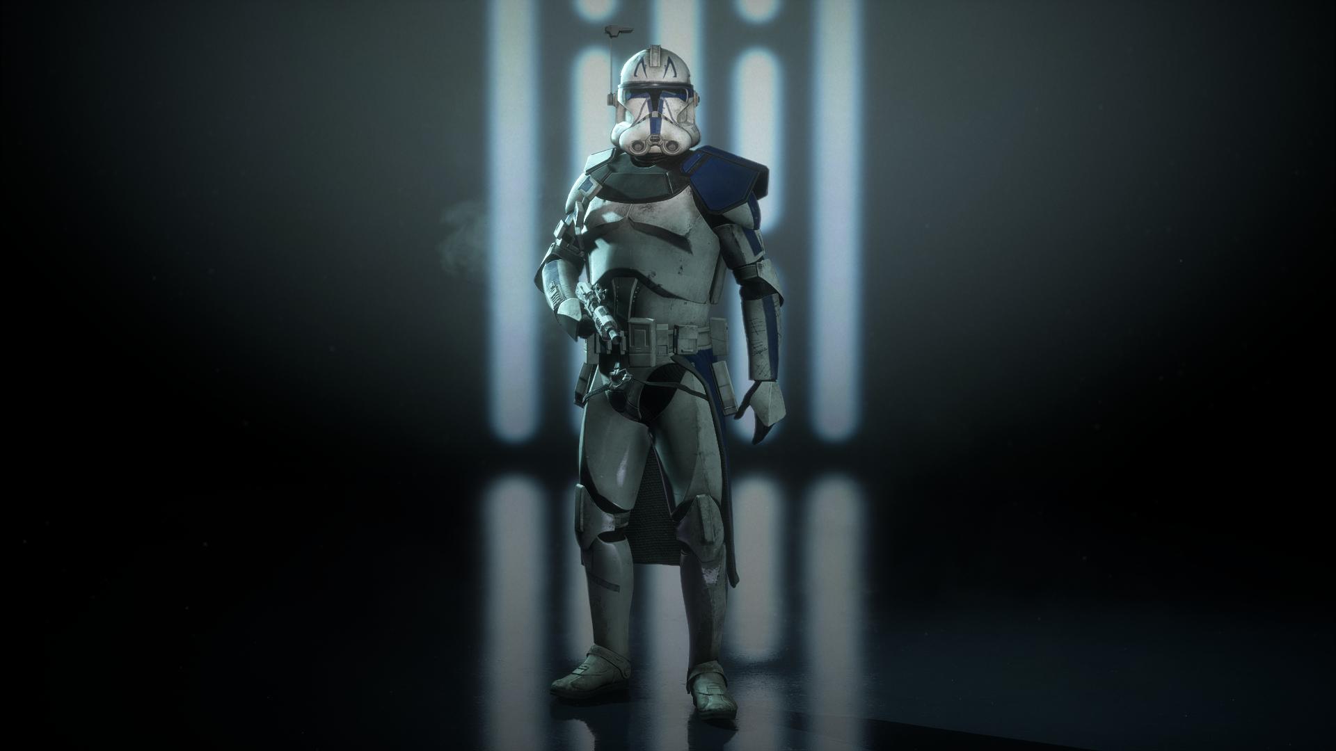 Captain Rex Phase 2 At Star Wars Battlefront Ii 2017 Nexus Mods And Community Star Wars Games Captain Battlefront