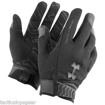 1ee1db52170 Under Armour Winter Tactical SWAT SF Blackout Coldgear Gloves Black 1227556  in Clothing