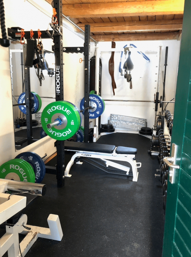 Garage leveling garage gym platform album on imgur best flooring